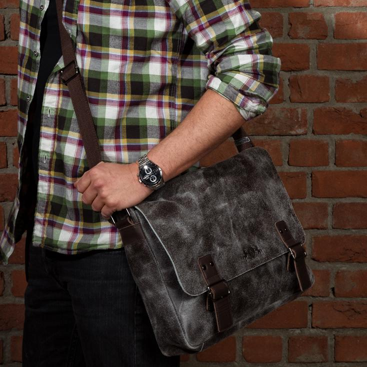 Messenger Bag - Ledertasche