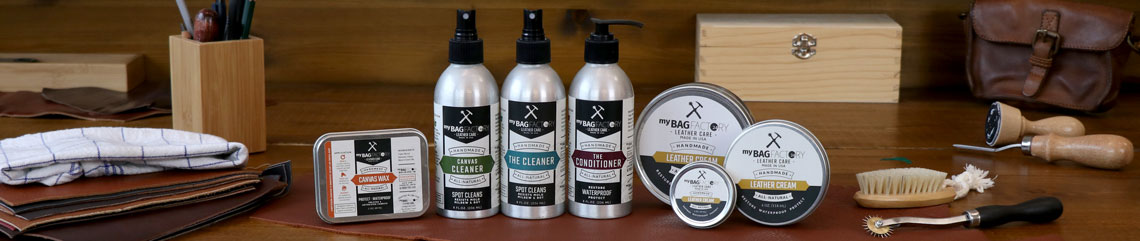 Header leather care